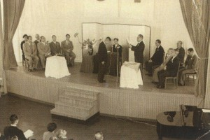 1956(昭和31)年 開学式の様子