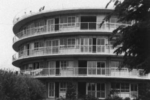 さつき寮(1962(昭和37)年撮影)